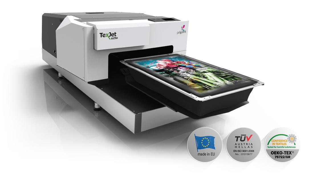 Printer DTG (direct to garment) Polyprint Texjet Echo2